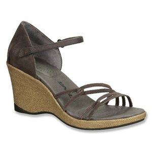 Teva Riviera Strappy Cork Wedge Sandal Size 7